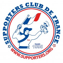 AUTOCOLLANT SUPPORTERS CLUB de FRANCE