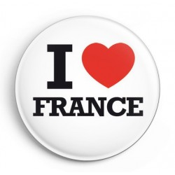 BADGE I LOVE FRANCE
