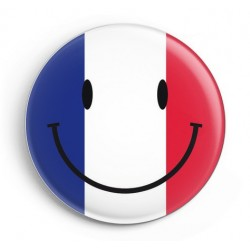 BADGE SMILEYS FRANCE