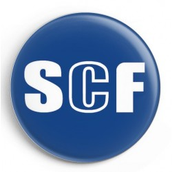 BADGE COQ SCF BLEU