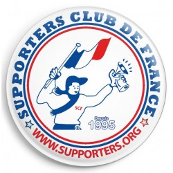 BADGE SUPPORTERS CLUB DE FRANCE