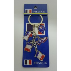 PORTE CLEFS FRANCE FOOT