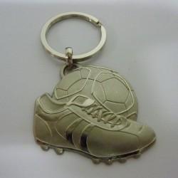 PORTE CLEFS FOOT METAL