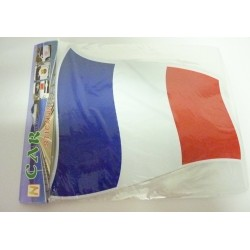 STICKER VOITURE DRAPEAU FRANCE
