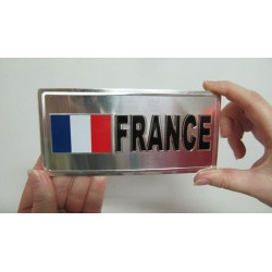 PLAQUE METAL FRANCE