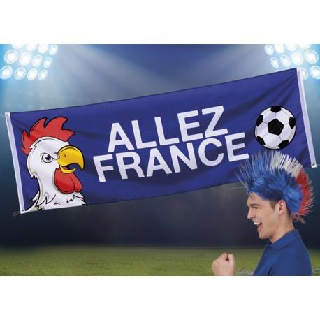 BANNIERE ALLEZ FRANCE COQ