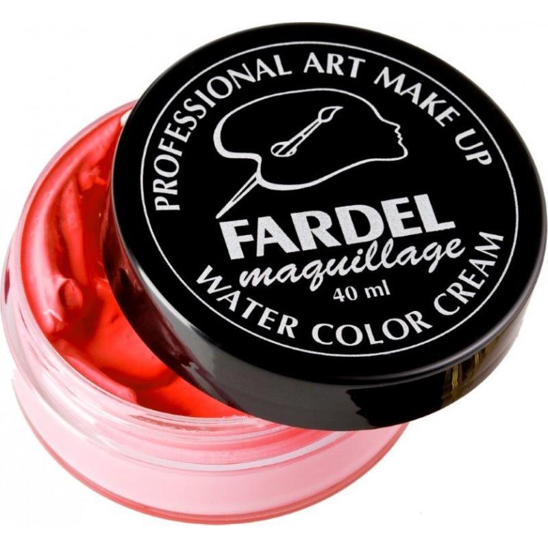 Maquillage fardel cr me visage l 39 eau bleu blanc rouge - Maquillage blanc visage ...