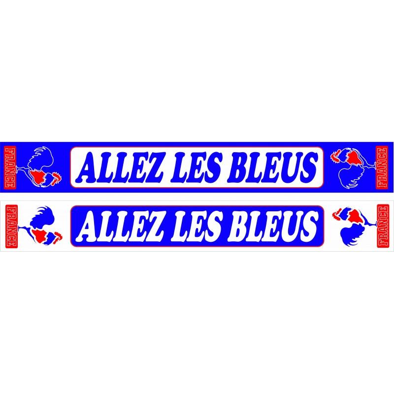 Echarpe Supporter Allez Les Bleus Du Supporters Club De France