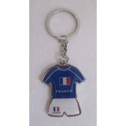 PORTE CLEF METAL MAILLOT FRANCE