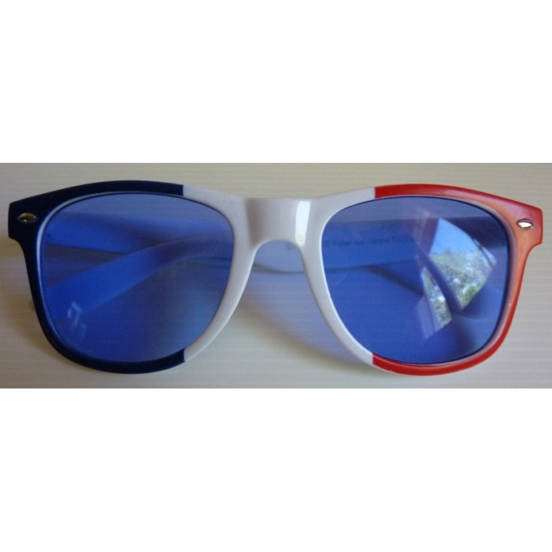 lunettes supporter france blues brothers