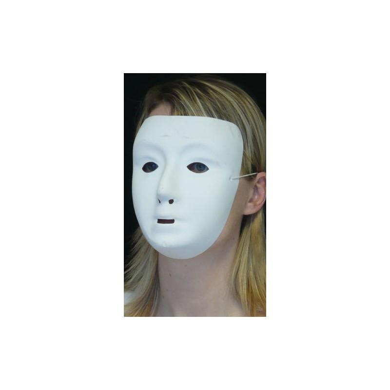 Masque a peindre visage sans front carnaval deguisement for Peindre sans lessiver