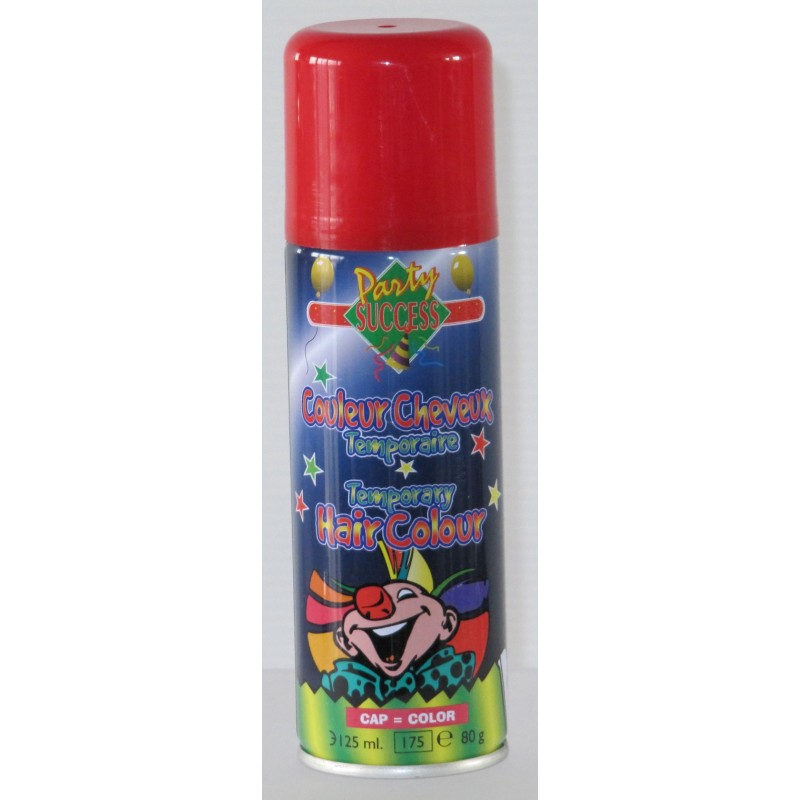 Bombe laque spray cheveux bleu blanc rouge pour supporter for Bombe ideespray