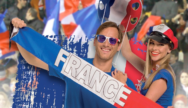 Echarpes, foulards, chèches pour supporter France