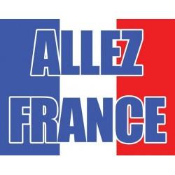 DRAPEAU ALLEZ FRANCE