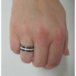 BAGUE TRICOLORE SUPPORTRICE