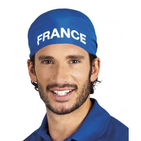 Bandana France 100% bleu