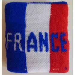 poignet tisse france tricolore