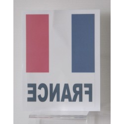 AUTOCOLLANT DRAPEAU FRANCE